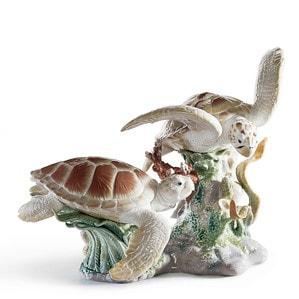 """Статуэтка """"Морские черепахи"""" 36 x 44см"""