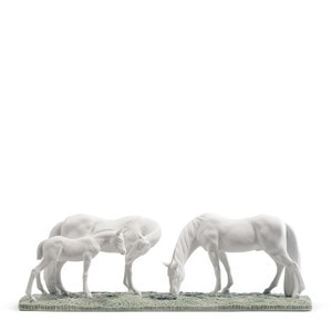 """Статуэтка """"Лошади на лугу"""" 18 x 47см"""