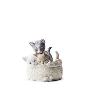 """Статуэтка """"Любопытные котята"""" 13 x 12см"""