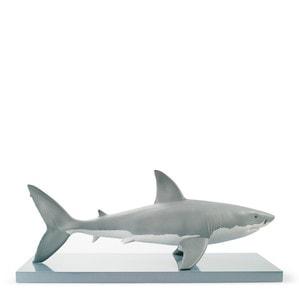 """Статуэтка """"Белая акула"""" 32 x 76см"""