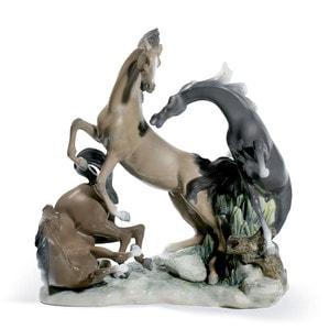 "Статуэтка ""Группа лошадей"" 45 x 45см"