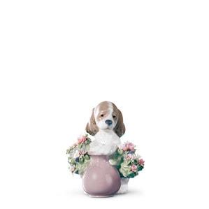 """Статуэтка """"Непослушный щенок"""" 11 x 9см"""