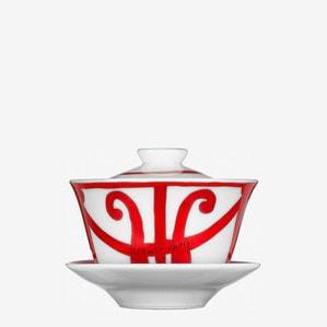 Чашка чайная с блюдцем и крышки 130мл