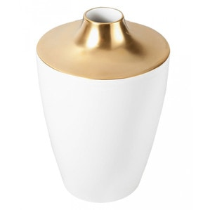 Ваза COSMOPOLITAN, Gold, H 18 cm