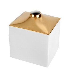 Ваза COSMOPOLITAN, Gold, H 13 cm