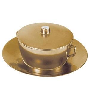 Чаша суповая с блюдцем и крышкой, 300мл