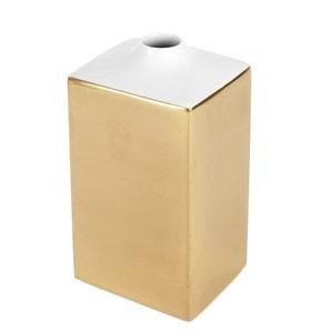 Ваза COSMOPOLITAN, Gold, H 15,5 cm