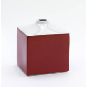 Ваза COSMOPOLITAN, Miami Style, Red sunset, H 13 cm