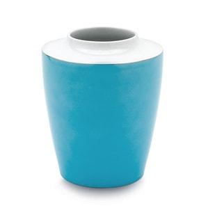 Ваза большая, Form COSMOPOLITAN, Miami Style, Turquoise sea, H 21 cm