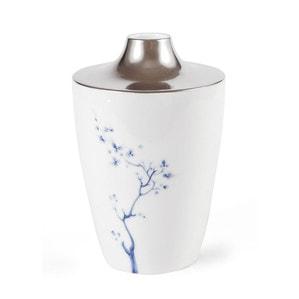 Ваза COSMOPOLITAN, Blue Orchid Platinum, H 18 cm