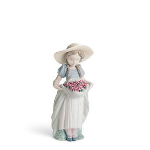 """Статуэтка """"Луговые цветы"""" (гвоздики) 24 x 13см"""
