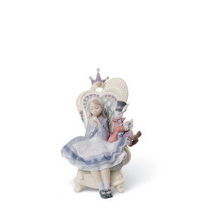 "Статуэтка ""Алиса в стране чудес"" 21 x 13см"