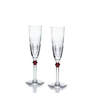 """Флюте для шампанского """"Красный"""", 2шт. 170мл"""