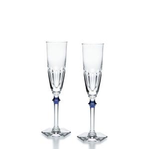 """Флюте для шампанского """"Синий"""", 2шт. 170мл"""