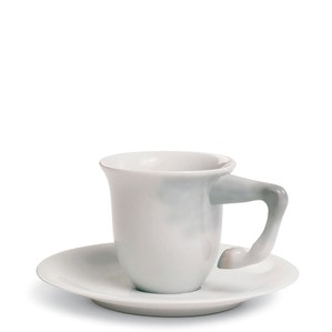 """Чашка кофейная с блюдцем """"Equus"""" 7 x 13см"""