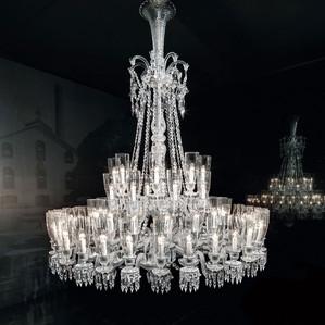 Люстра на 64 свечей 230 x 170см