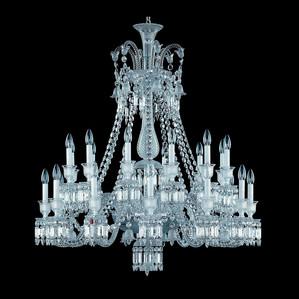 Люстра на 24 свечей 116 x 108см