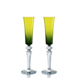 """Флюте для шампанского """"Зеленый мох"""", 2шт. 170мл"""