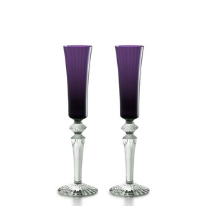"""Флюте для шампанского """"Фиолетовый"""", 2шт. 170мл"""