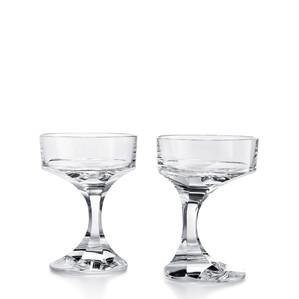 """Бокал-блюдце """"Шале"""" для шампанского, 2шт. 13,8см"""