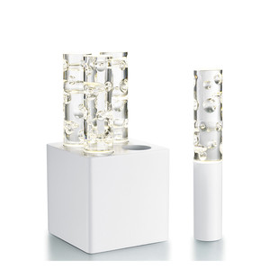 """Настольная лампа на 4 лампы """"Белый"""" 32 x 16см"""