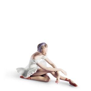 """Статуэтка """"Балерина с розой"""" 13 x 21см"""