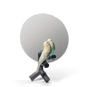 """Зеркало настольное """"Попугай Vanity"""" 37 x 27см"""