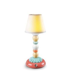 """Лампа настольная """"Светящаяся пальма (светло голубой)"""" 30 x 12см"""