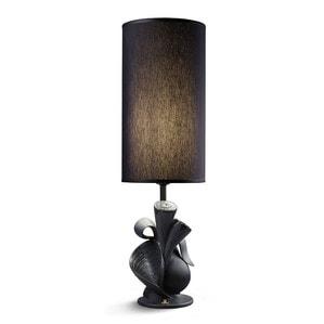 """Лампа настольная """"Naturofantastic (черный)"""" 54 x 16см"""