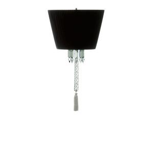 """Подвесная лампа """"Чёрный абажур"""" 63 x 36см"""