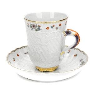 Чашка с блюдцем, 150мл