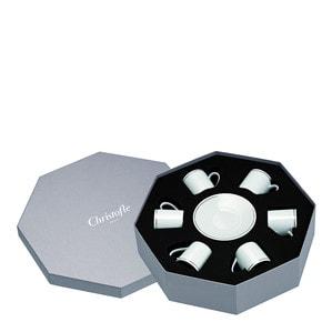 Чашка эспрессо с блюдцем в подарочной упаковке, 6 шт. 0,1л