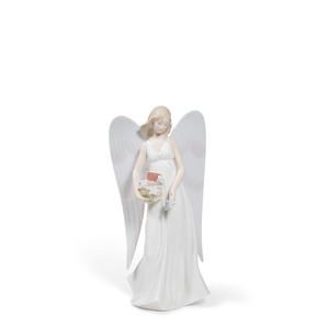 """Верхушка для ёлки """"Ангельские звёзды"""" 22 x 11см"""