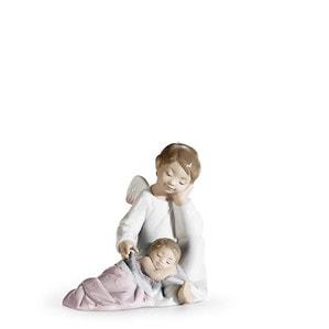 """Статуэтка """"Мой ангел-хранитель (розовый)"""" 14 x 14см"""