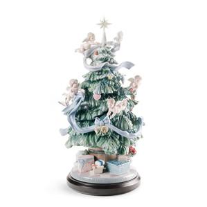 """Статуэтка """"Большая рождественская елка"""" 47 x 26см"""