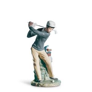 """Статуэтка """"Игрок в гольф"""" 27 x 13см"""