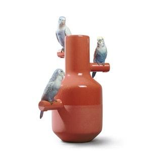 """Ваза """"Parrot Parade (коралл)"""" 41 x 25см"""