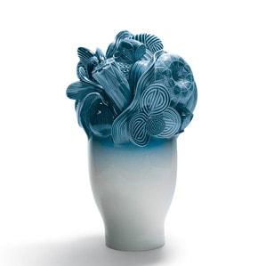 """Ваза """"Naturofantastic (синяя)"""" 41 x 25см"""