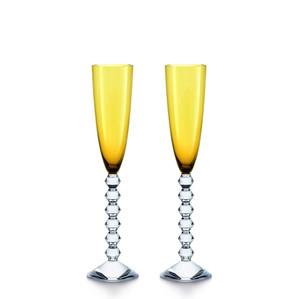"Флюте для шампанского ""Янтарный"", 2шт. 180мл"