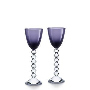 """Бокал для вина """"Фиолетовый """", 2шт. 220мл"""