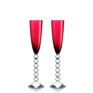 """Флюте для шампанского """"Красный"""", 2шт. 180мл"""