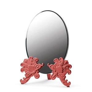 """Зеркало настольное """"Vanity (красный)"""" 41 x 29см"""