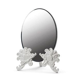 "Зеркало настольное ""Vanity (белый)"" 41 x 29см"