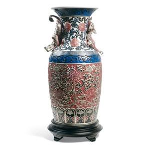 """Ваза """"Восточная ваза (красный)"""" 54 x 26см"""