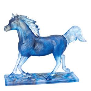 """Статуэтка """"Лошадь - синий"""" 53см"""