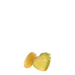 """Статуэтка """"Миндальное печенье - желтый"""" 9см"""