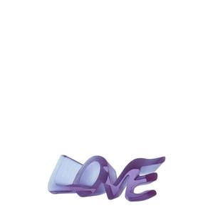"""Статуэтка """"Love - фиолетовый"""" 16,5см"""