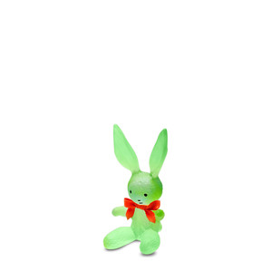 """Статуэтка """"Кролик - зеленый"""" 13см"""