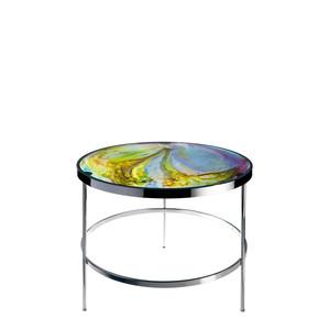 """Приставной столик """"Янтарный, синий, розовый, зеленый"""" 61см"""