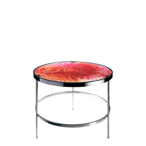 """Приставной столик """"Янтарный, розовый"""" 61см"""